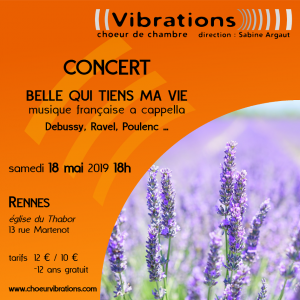 Concert - Belle qui tiens ma vie